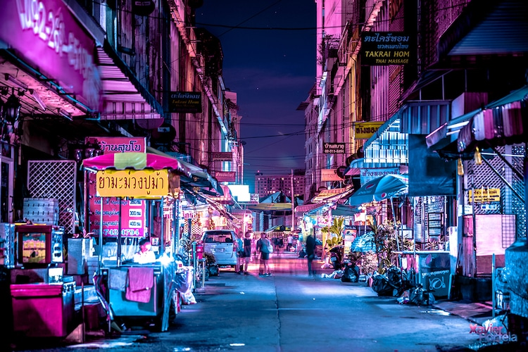 Bangkok Glow Neon Street Photography by Xavier Portela 3 Bangkok Glow : Neon Street Photography by Xavier Portela