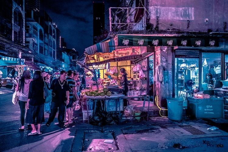 Bangkok Glow Neon Street Photography by Xavier Portela 8 Bangkok Glow : Neon Street Photography by Xavier Portela