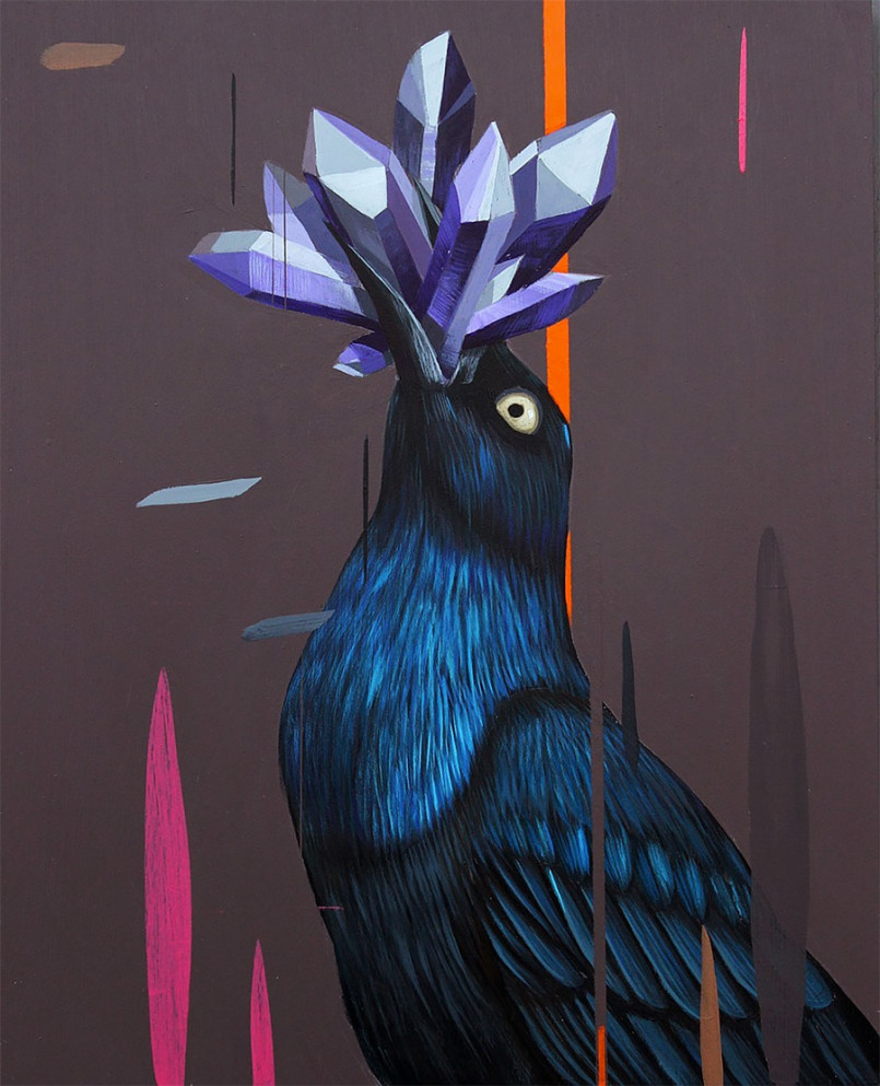 Beautiful Birds Paintings by Frank Gonzalez 3 Gorgeous Paintings of birds by American Artist Frank Gonzalez