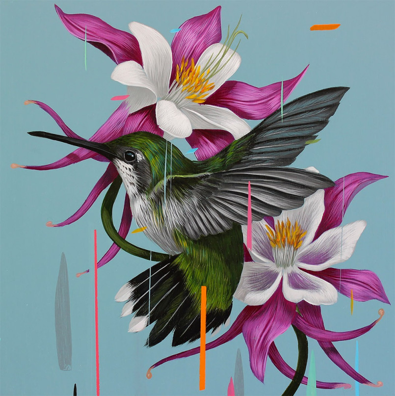 Beautiful Birds Paintings by Frank Gonzalez 6 Gorgeous Paintings of birds by American Artist Frank Gonzalez