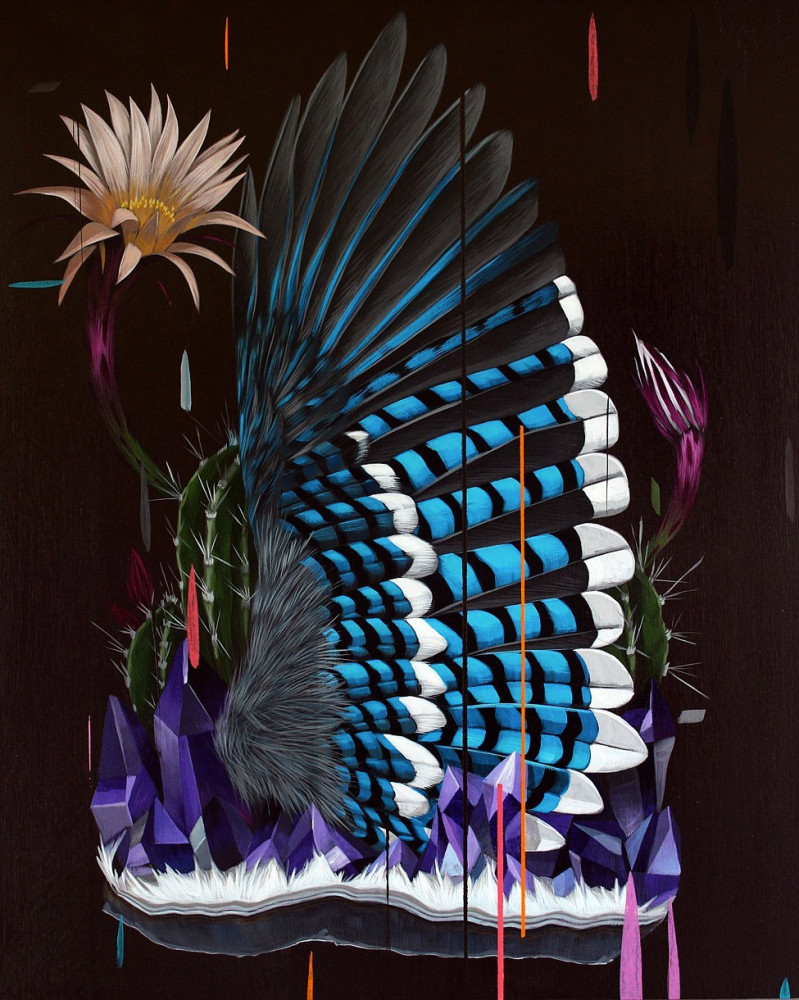 Beautiful Birds Paintings by Frank Gonzalez 7 Gorgeous Paintings of birds by American Artist Frank Gonzalez