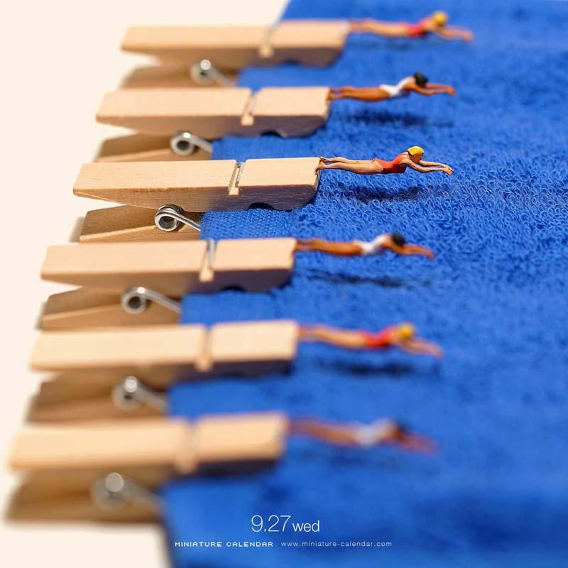 Beautiful Miniature Art by Tanaka Tatsuya 2 Creative Miniature Art by Tanaka Tatsuya