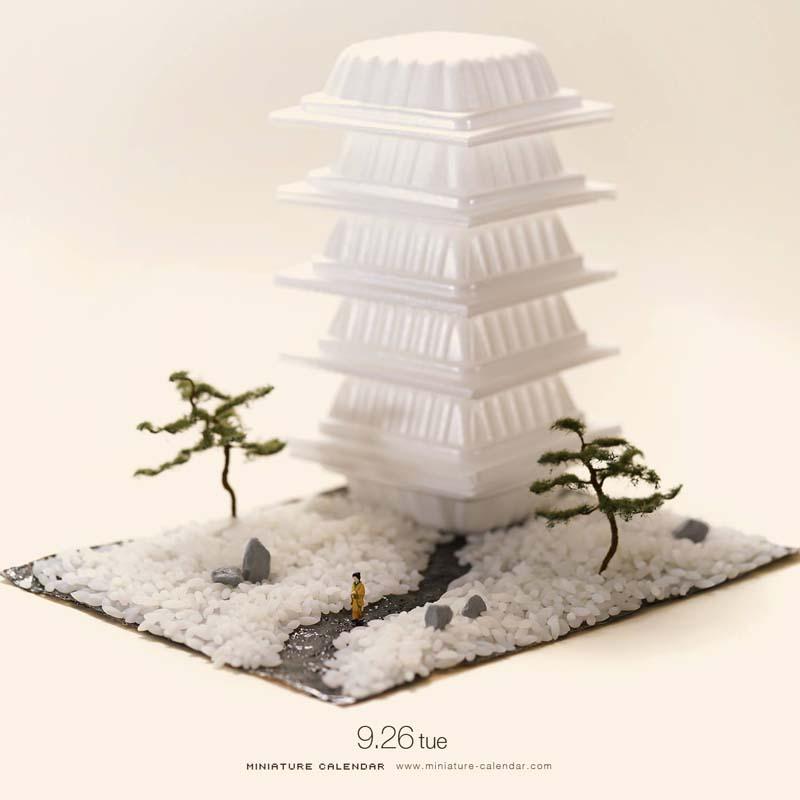 Creative Miniature Art by Tanaka Tatsuya 3 Creative Miniature Art by Tanaka Tatsuya