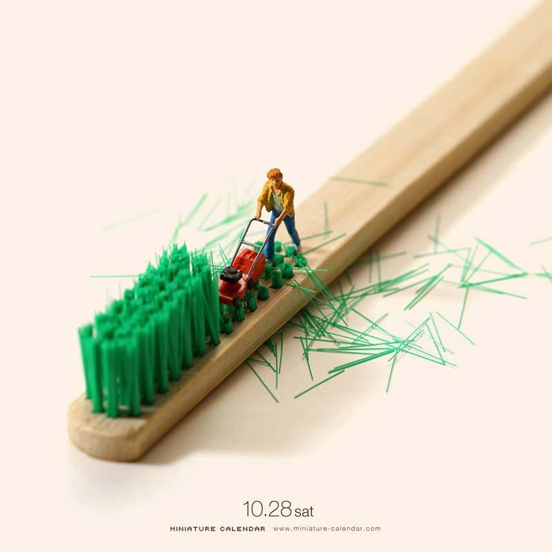 Creative Miniature World by Tanaka Tatsuya 3 Creative Miniature Art by Tanaka Tatsuya