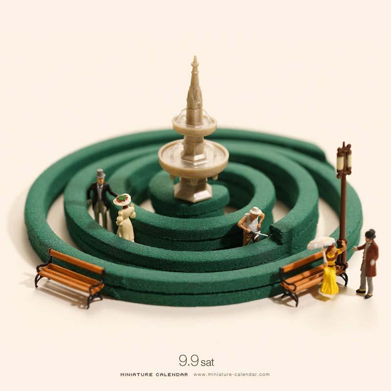 Creative Miniature World by Tanaka Tatsuya 4 Creative Miniature Art by Tanaka Tatsuya