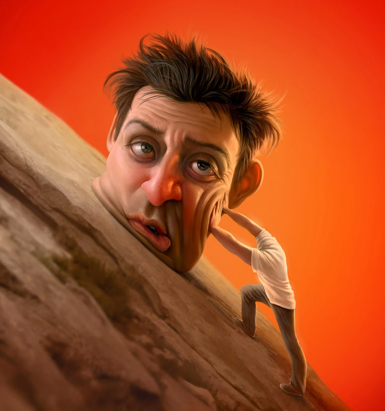 Funny Illustration Series by Tiago Hoisel 5 Sinuses: Funny Illustration Series by Tiago Hoisel