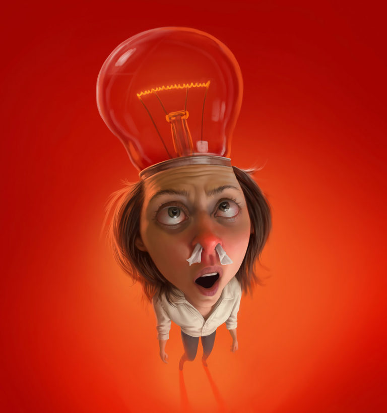 Funny Illustration Series by Tiago Hoisel 7 Sinuses: Funny Illustration Series by Tiago Hoisel