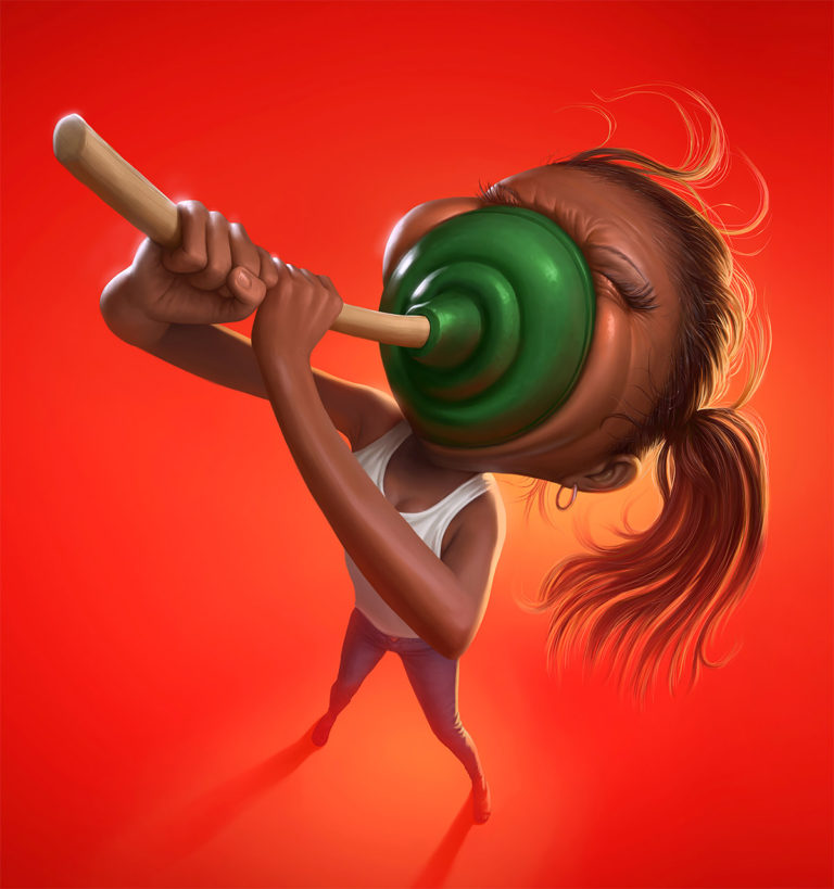 Funny Illustration Series by Tiago Hoisel 9 Sinuses: Funny Illustration Series by Tiago Hoisel