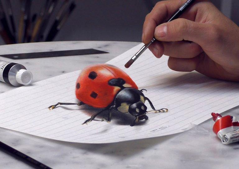 Hyper Realistic 3D Drawings by Stefan Pabst Hyper Realistic 3D Drawings by Stefan Pabst