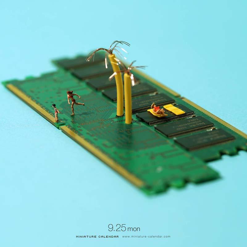 Incredible Miniature Art by Tanaka Tatsuya 1 Creative Miniature Art by Tanaka Tatsuya