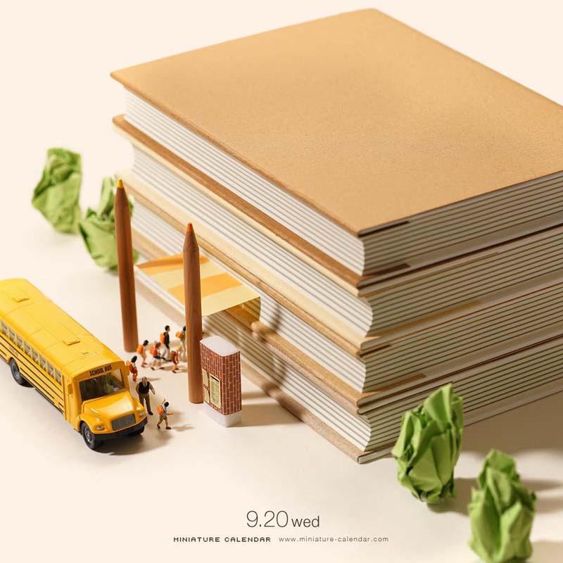 Incredible Miniature Art by Tanaka Tatsuya Creative Miniature Art by Tanaka Tatsuya