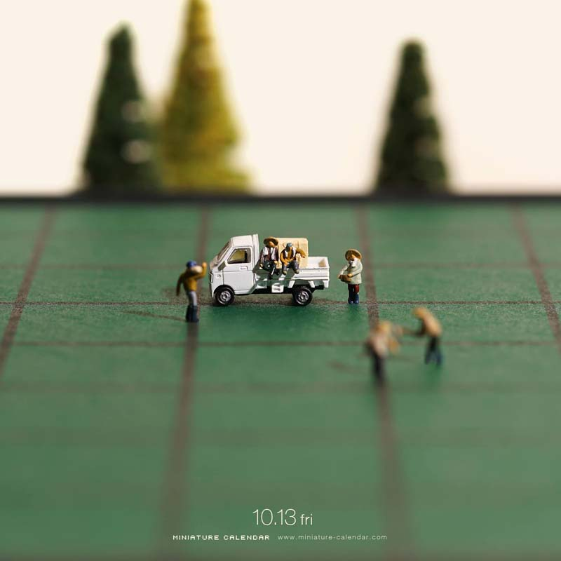 Unique Miniature Art by Tanaka Tatsuya 1 Creative Miniature Art by Tanaka Tatsuya