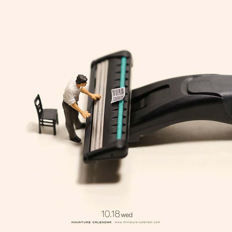 Unique Miniature Art by Tanaka Tatsuya 4 Creative Miniature Art by Tanaka Tatsuya