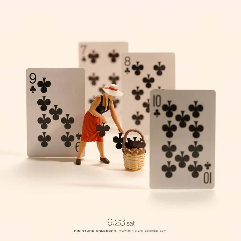 Wonderful Miniature Art by Tanaka Tatsuya Creative Miniature Art by Tanaka Tatsuya
