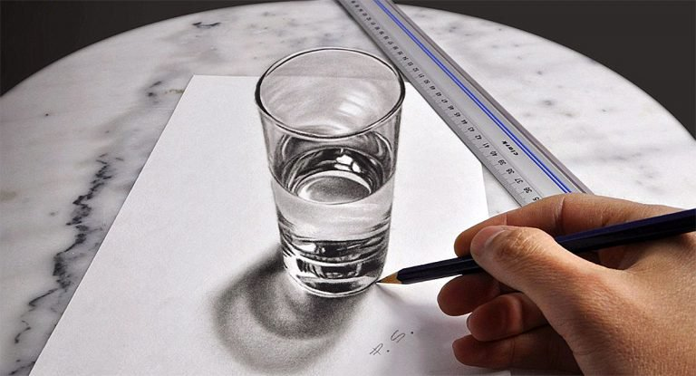 illustration 3D Drawings by Stefan Pabst Hyper Realistic 3D Drawings by Stefan Pabst