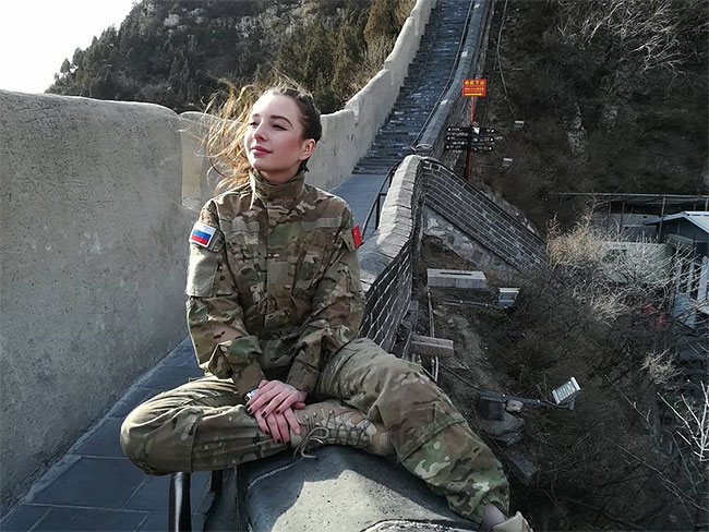 Meet Elena Deligioz Probably The Most Beautiful Female Cosplay 13 Meet Elena Deligioz, Probably The Most Beautiful Female Cosplay Soldier In The World