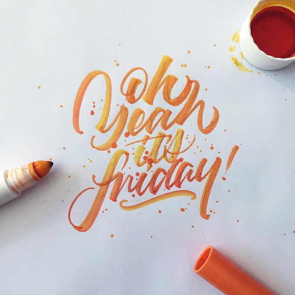 11 25 Beautiful Hand Lettering & Calligraphy Works by David Milan