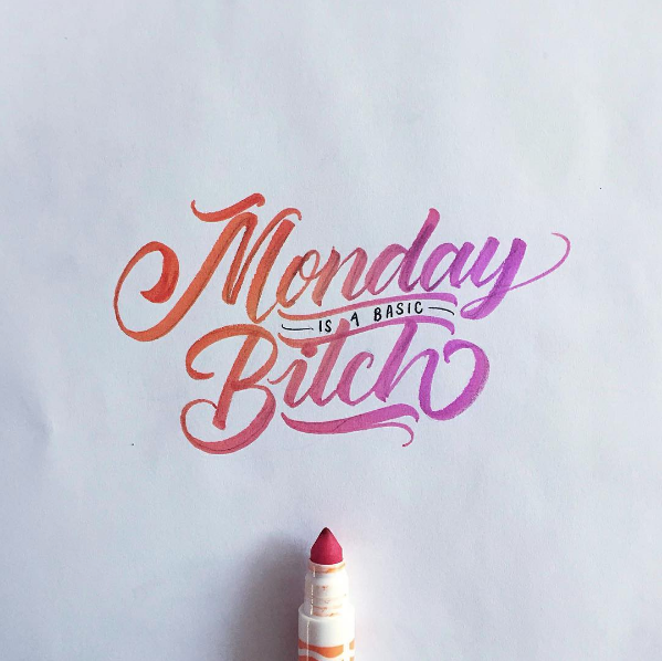 Beautiful Hand Lettering by David Milan 10 25 Beautiful Hand Lettering & Calligraphy Works by David Milan