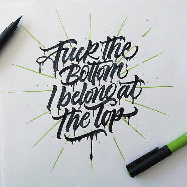 Beautiful Hand Lettering by David Milan 13 25 Beautiful Hand Lettering & Calligraphy Works by David Milan