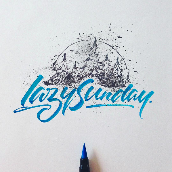 Beautiful Hand Lettering by David Milan 14 25 Beautiful Hand Lettering & Calligraphy Works by David Milan