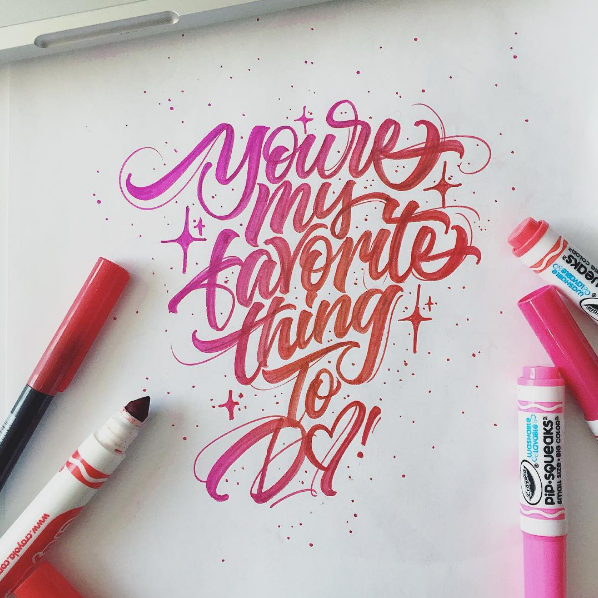Beautiful Hand Lettering by David Milan 18 25 Beautiful Hand Lettering & Calligraphy Works by David Milan