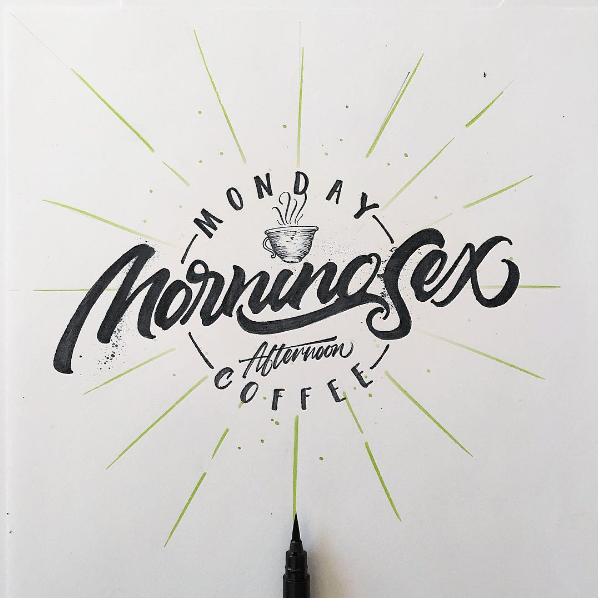 Beautiful Hand Lettering by David Milan 2 25 Beautiful Hand Lettering & Calligraphy Works by David Milan