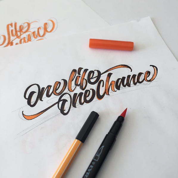 Beautiful Hand Lettering by David Milan 21 25 Beautiful Hand Lettering & Calligraphy Works by David Milan