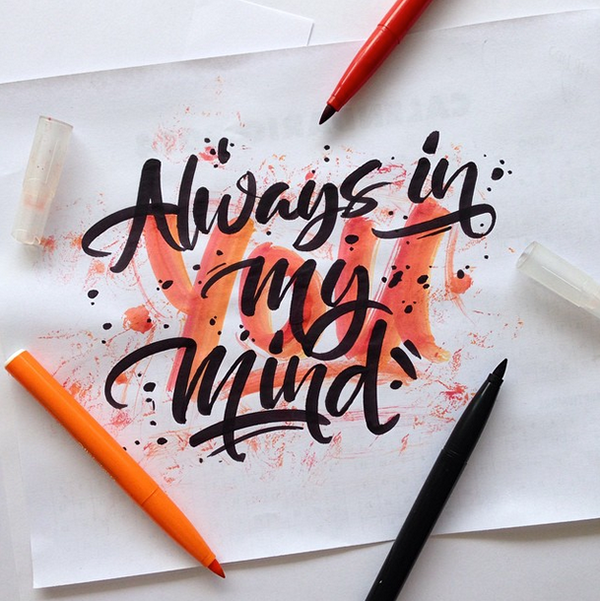 Beautiful Hand Lettering by David Milan 24 25 Beautiful Hand Lettering & Calligraphy Works by David Milan