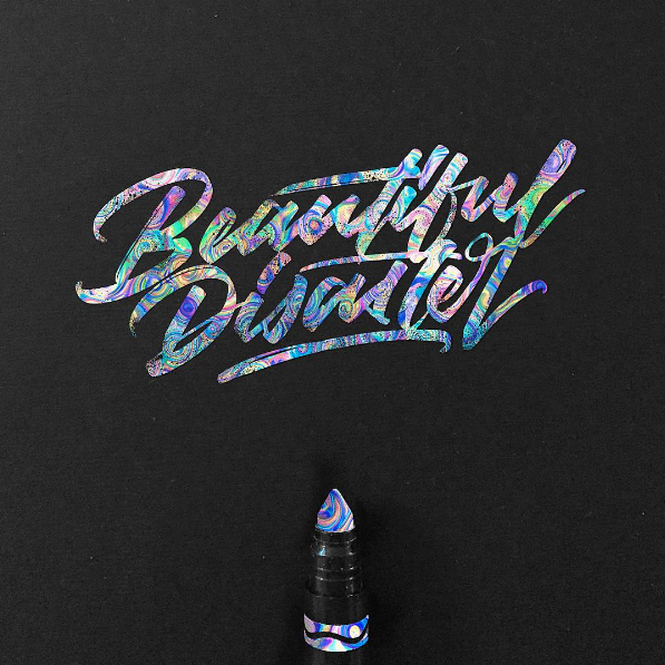 Beautiful Hand Lettering by David Milan 25 Beautiful Hand Lettering & Calligraphy Works by David Milan
