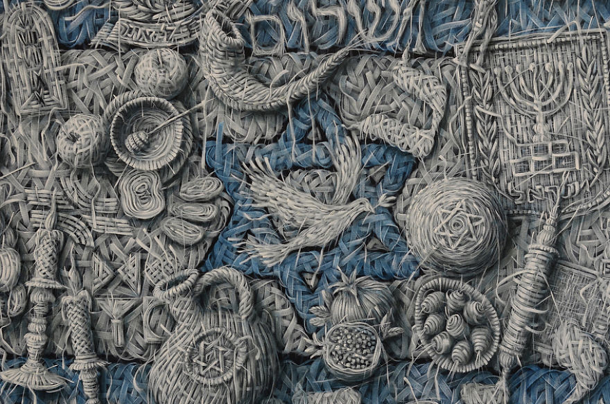 The Weaving Oil of Artist Alexi Torres Will Impress you 13 The Weaving Oil of Artist Alexi Torres Will Impress you