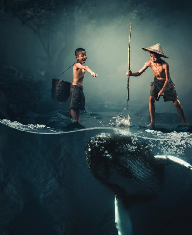 Creative and Beautiful Dreamlike Photo Manipulations by Justin Peters