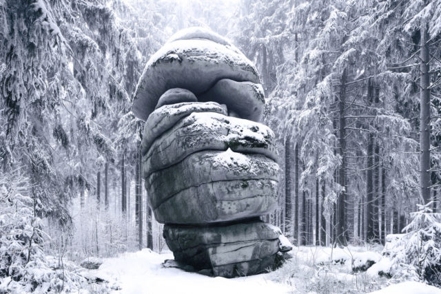 Frozen Landscapes Tell a Winter's Tale in New Photographs by Kilian Schönberger