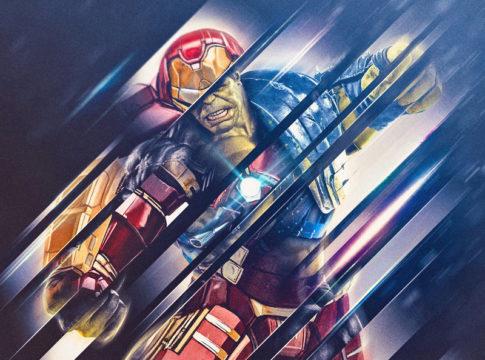 Avengers Wonderful Infinity War Fan Art by masaolab