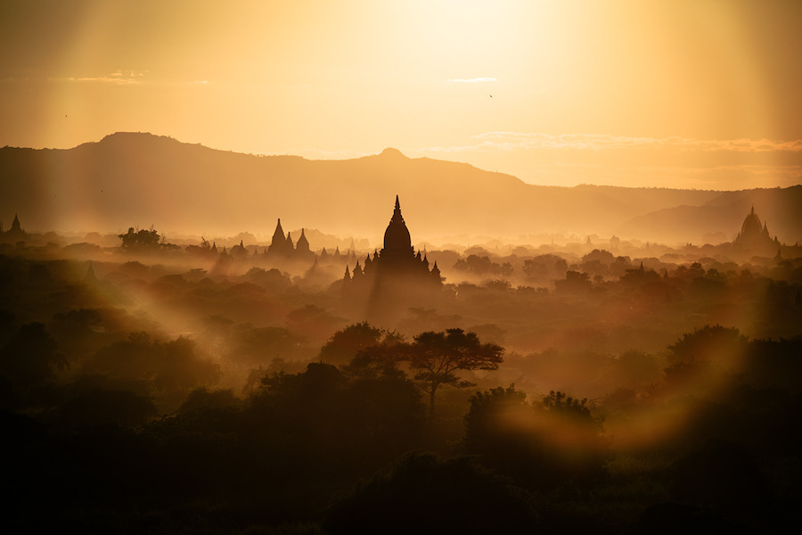 Beautiful Aerial Photographs Of Myanmar Temples 2 Beautiful Aerial Photographs Of Myanmar Temples