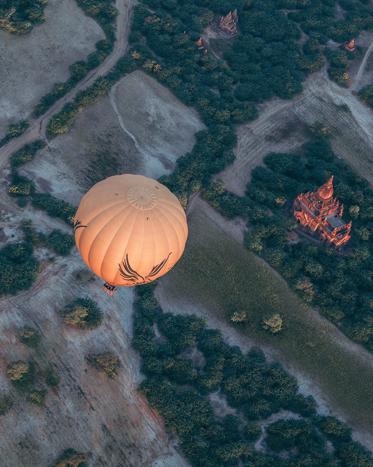 Beautiful Aerial Photographs Of Myanmar Temples 7 Beautiful Aerial Photographs Of Myanmar Temples