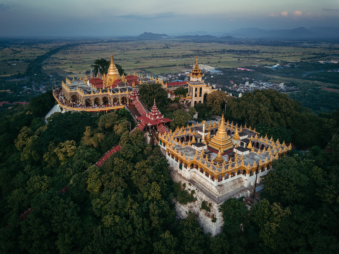 Beautiful Aerial Photographs Of Myanmar Temples 8 Beautiful Aerial Photographs Of Myanmar Temples