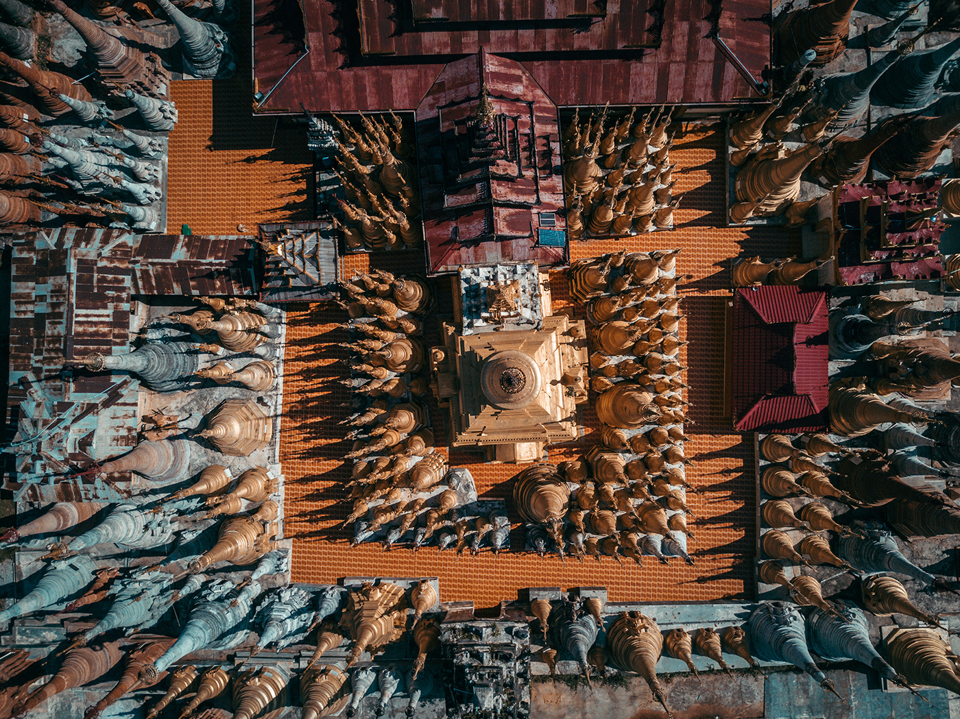 Beautiful Aerial Photographs Of Myanmar Temples 9 Beautiful Aerial Photographs Of Myanmar Temples