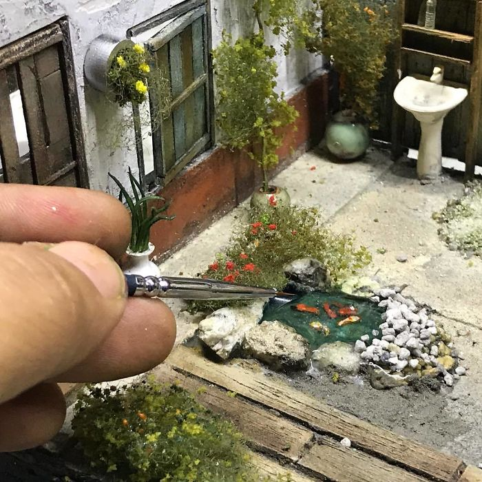 Incredible Miniature Art Diorama By Eddie Putera 10 Incredible Miniature Art Diorama By Eddie Putera