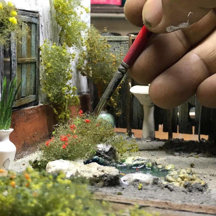 Incredible Miniature Art Diorama By Eddie Putera 12 Incredible Miniature Art Diorama By Eddie Putera