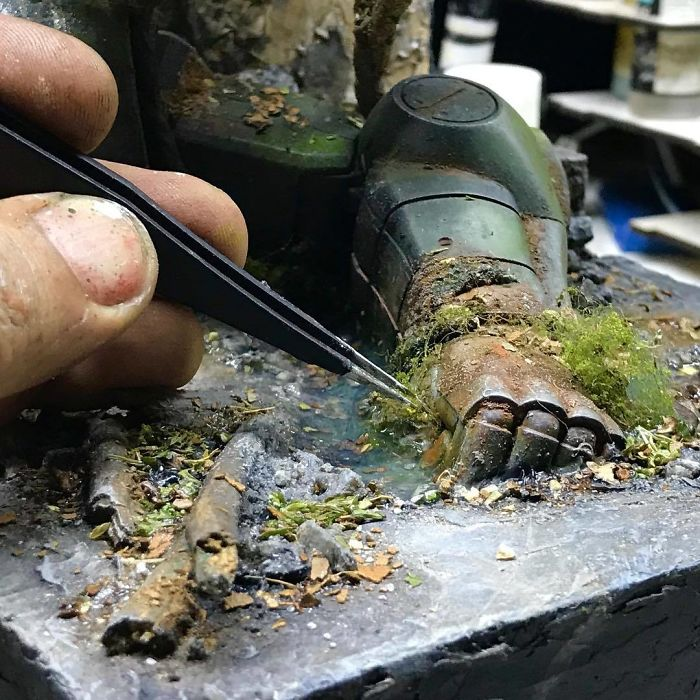 Incredible Miniature Art Diorama By Eddie Putera 16 Incredible Miniature Art Diorama By Eddie Putera