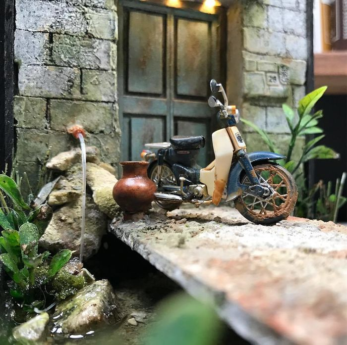 Incredible Miniature Art Diorama By Eddie Putera 19 Incredible Miniature Art Diorama By Eddie Putera