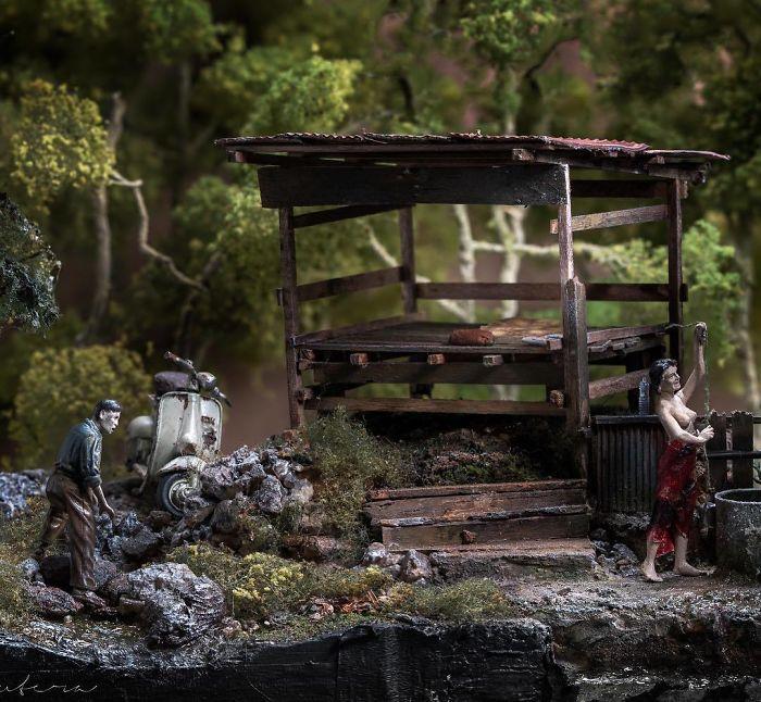 Incredible Miniature Art Diorama By Eddie Putera 22 Incredible Miniature Art Diorama By Eddie Putera