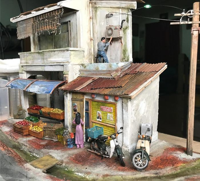 Incredible Miniature Art Diorama By Eddie Putera 4 Incredible Miniature Art Diorama By Eddie Putera