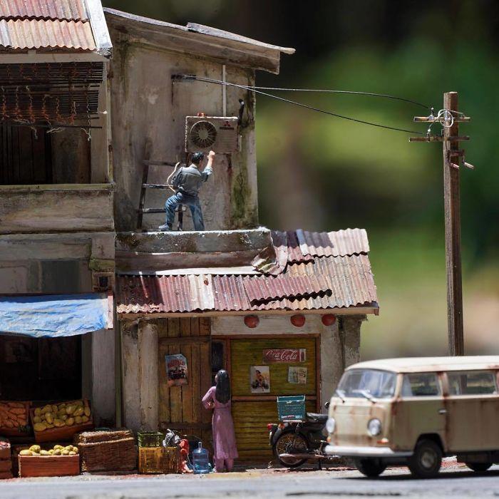 Incredible Miniature Art Diorama By Eddie Putera 5 Incredible Miniature Art Diorama By Eddie Putera