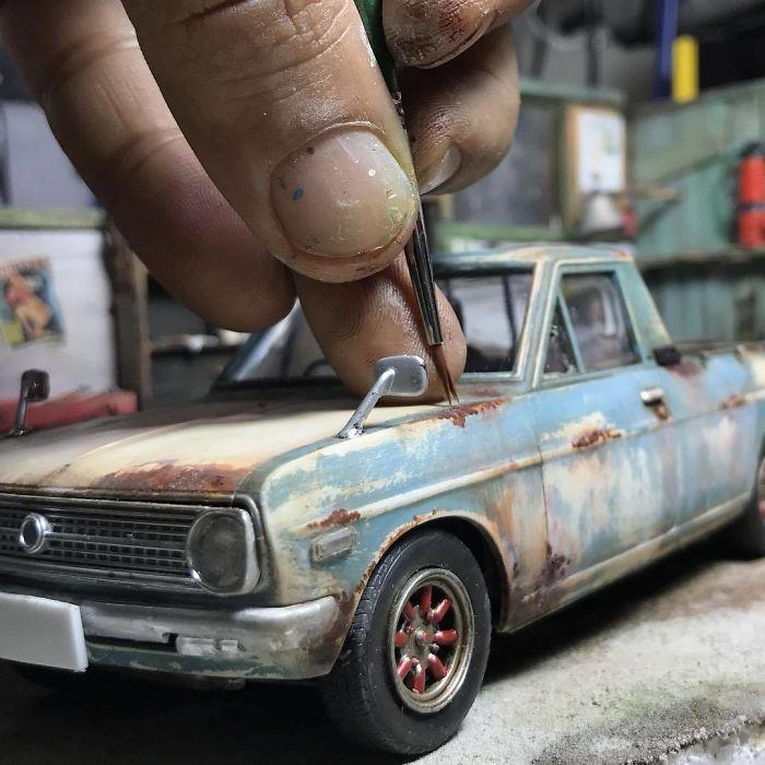 Incredible Miniature Art Diorama By Eddie Putera 6 Incredible Miniature Art Diorama By Eddie Putera