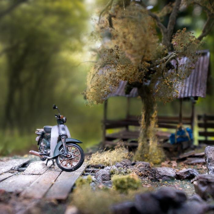 Incredible Miniature Art Diorama By Eddie Putera 8 Incredible Miniature Art Diorama By Eddie Putera
