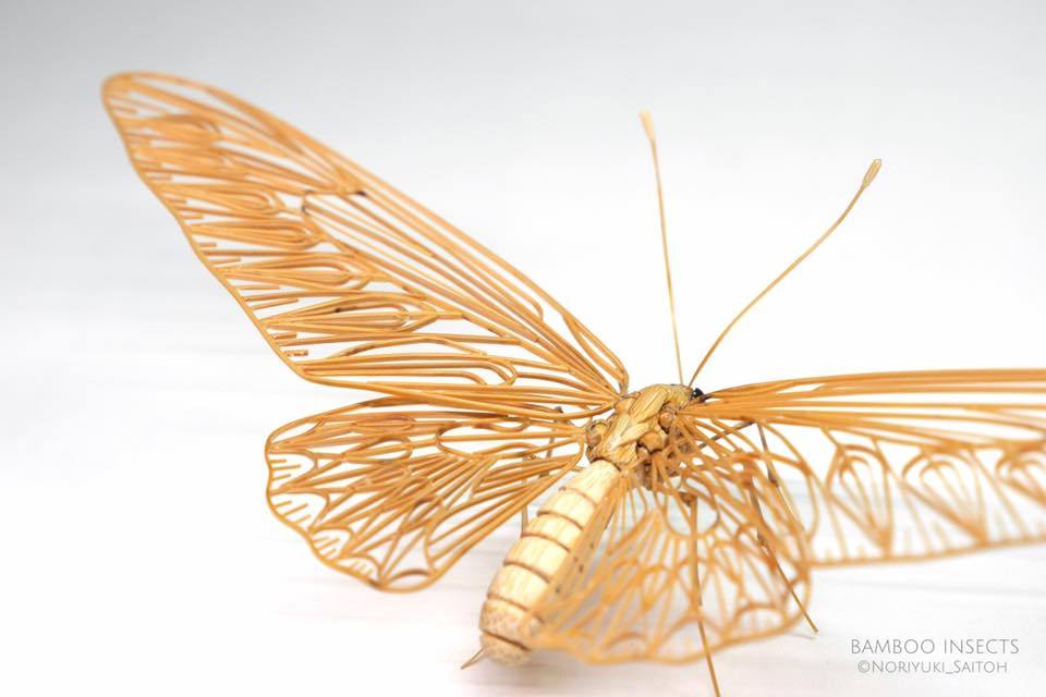 Incredibly Lifelike Insects Crafted out of Bamboo by Noriyuki Saitoh 5 Incredibly Lifelike Insects Crafted out of Bamboo by Noriyuki Saitoh
