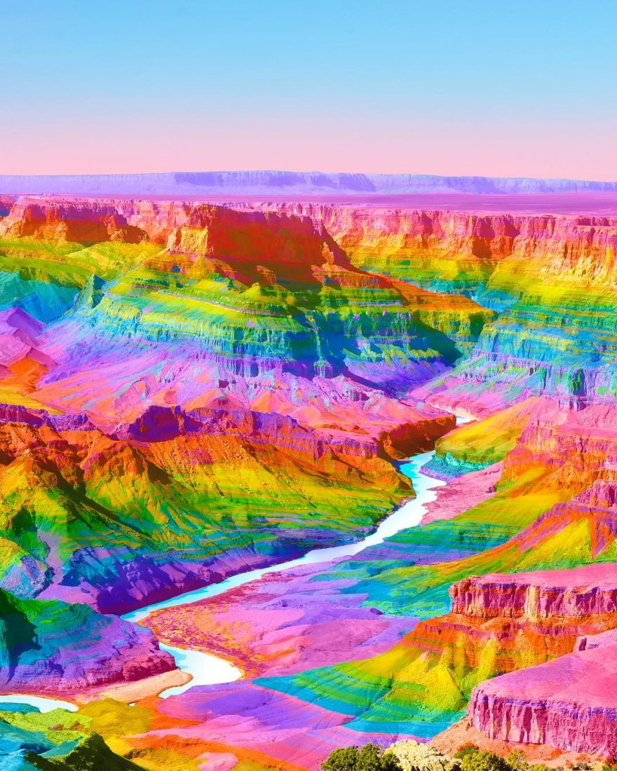Ramzy Masri Turns The World Into a Rainbow Paradise 8 Ramzy Masri Turns The World Into a Rainbow Paradise
