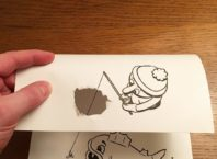 3D Paper Doodles Created With Playful Folds and Rips by HuskMitNavn