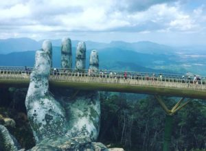Amazing Giant Hands Bridge In Vietnam